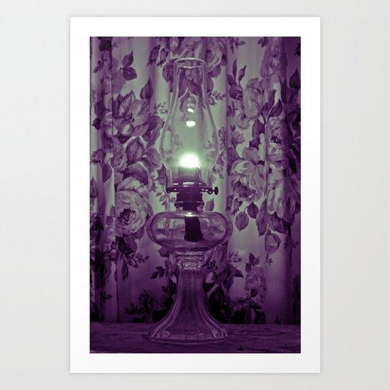 Classic lighting Art Print