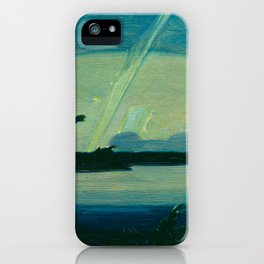 J.E.H. MacDonald Aurora, Georgian Bay, 1931, Canadian Art iPhone Case