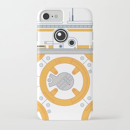 Minimal BB8 Droid iPhone Case