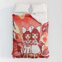 Lollipop Girls. Comforters