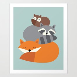 Dream Together Art Print