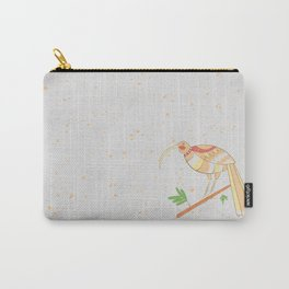 New Zealand Native Birds -  Huia Carry-All Pouch