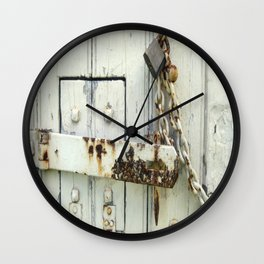 Latched Wall Clock