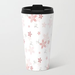 Spring Floral Print Travel Mug