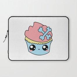 Cupcake Skull Laptop Sleeve