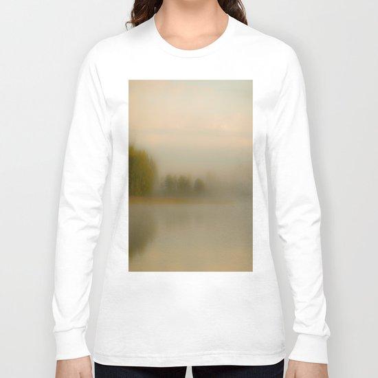 Misty Autumn Morning Long Sleeve T-shirt