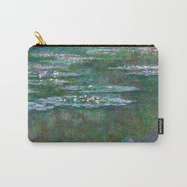 Water Lilies Claude Monet 1904 Carry-All Pouch
