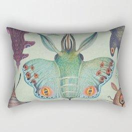 Cephalopodoptera Tab. I Rectangular Pillow