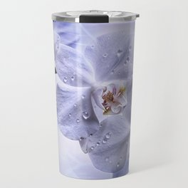 Weiße Orchideen Travel Mug