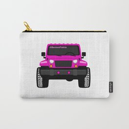 'Boston' Pink Jeep Girl Carry-All Pouch