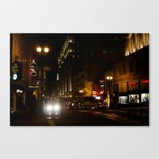 Down Town San Fran Canvas Print
