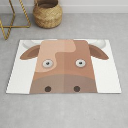 The Cow of Videos Manguis Rug