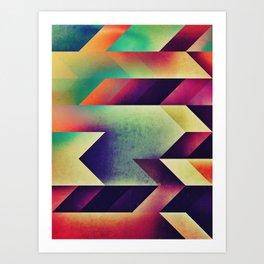 fyntysy dye Art Print