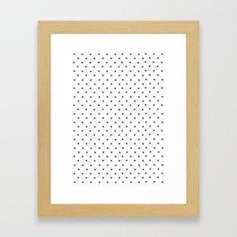 Simple Cross Framed Art Print
