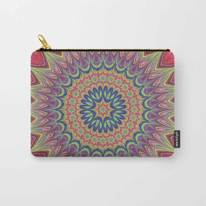 Flame mandala Carry-All Pouch