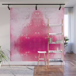 Bubbly Pink Wall Mural