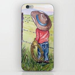 Little Cowboy iPhone Skin