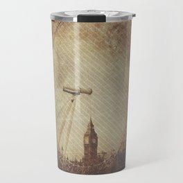 Big Ben in the Eye of London Travel Mug