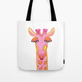 Giraffe Nursery Tote Bag