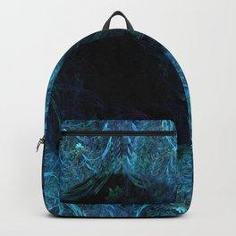 Blue eye - fractal Backpack