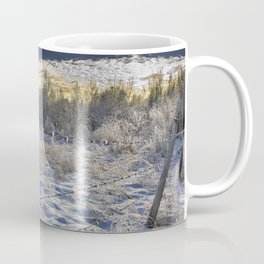 Morning Frost in Alberta Coffee Mug