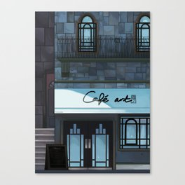 Café art Canvas Print