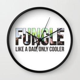 Funcle Wall Clock
