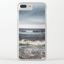 Crashing Clear iPhone Case