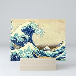 The Great Wave Off Kanagawa Katsushika Hokusai Mini Art Print