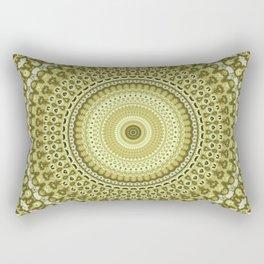 Fractal Kaleido Study 003 in CMR Rectangular Pillow