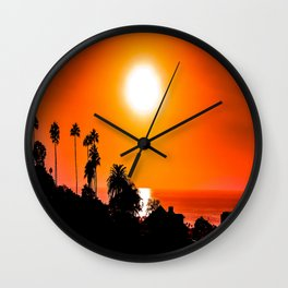 Coastal Splash - San Diego 2015 Wall Clock