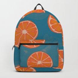 hand-painted california orange slices Backpack