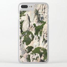Rugged Sierras Clear iPhone Case