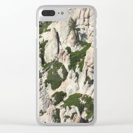 Rugged Sierras Clear iPhone Case