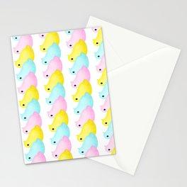 Peeps Pattern Stationery Cards