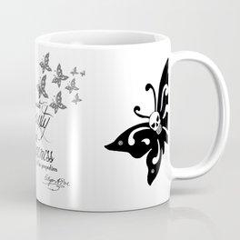 'Strange Skullerflies' -  Quotes - Edgar Allan Poe Coffee Mug