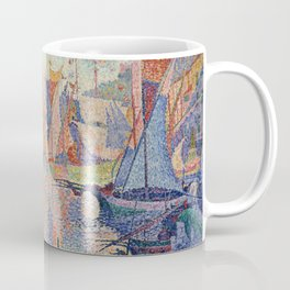 Paul Signac - The Port Of Saint Tropez Coffee Mug