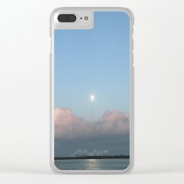 Falcon 9 in Flight Clear iPhone Case