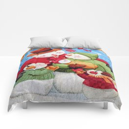 Snowman Family Comforters