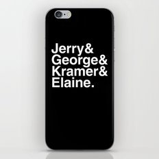 Seinfeld Jetset iPhone & iPod Skin