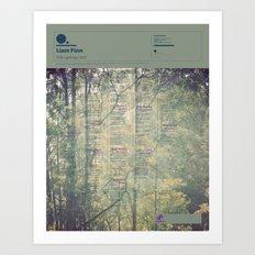 The Visual Mixtape 2010 | I'll Be Lightning | 15 / 25 Art Print