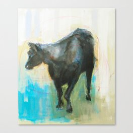 Swinging Bull Canvas Print