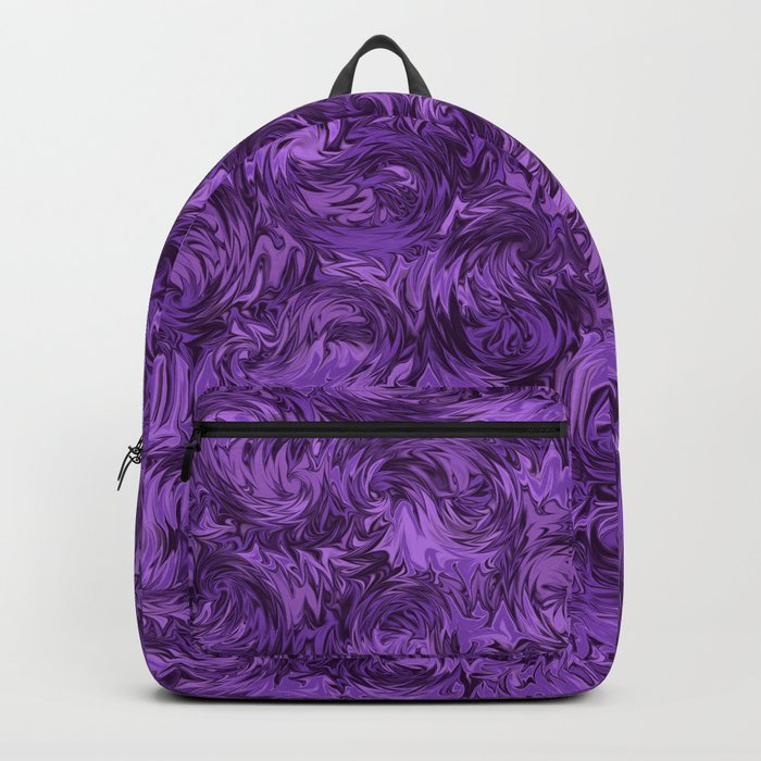 Marbled Paisley - Purple Backpack