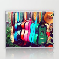 las guitarras. spanish guitars, Los Angeles photograph Laptop & iPad Skin