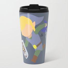 Toon Link(Smash)Silver Travel Mug