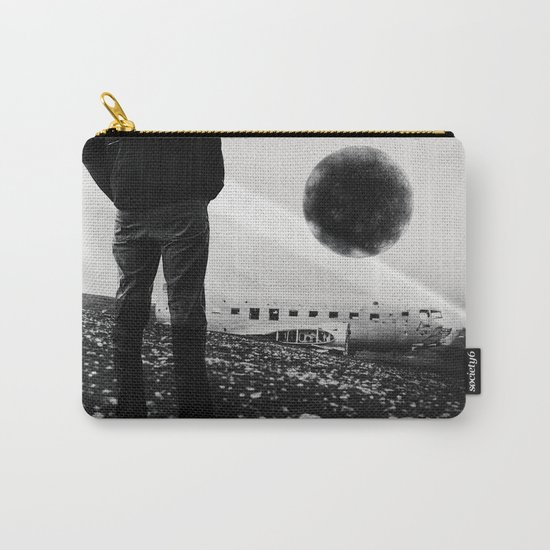 Black Orb Carry-All Pouch