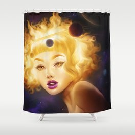 Sunny Girl Shower Curtain