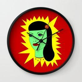 Muerto Amor Wall Clock