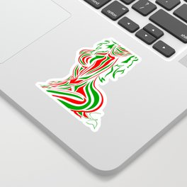 ABSTRACT CHIC Sticker
