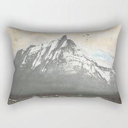 Sea.Mountains.Light. ii. Rectangular Pillow